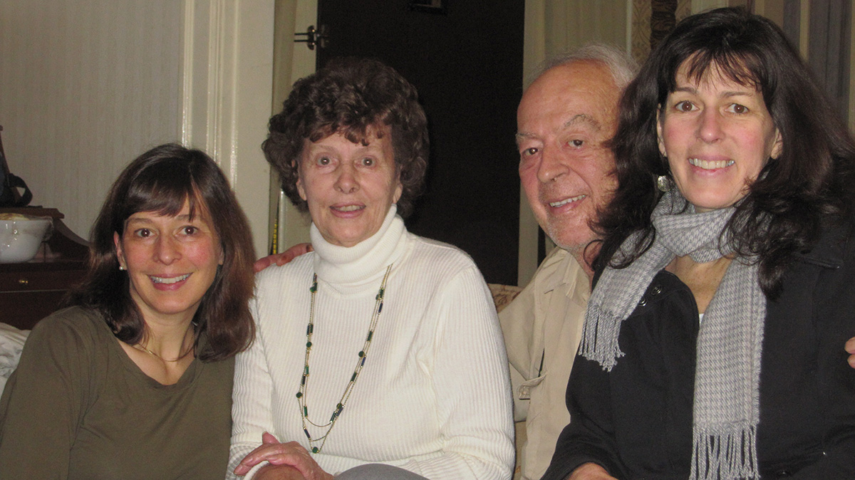 The Meyn family: Carmen, Gisela, Andy, and Andrea.