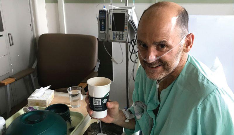 Simon Smith in recovery