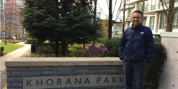 Dr. Sriram Subramaniam at UBC